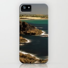 Trevose Head to Constantine Bay, Cornwall, UK iPhone Case