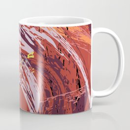 Red Bang Coffee Mug