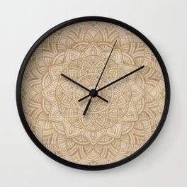 Sand Mandala Wall Clock