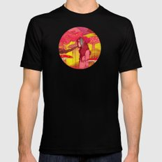 Chillout Mens Fitted Tee Black MEDIUM