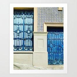 DOOR TO PORTUGAL Art Print