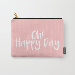 Oh! Happy Day Pink Carry-All Pouch