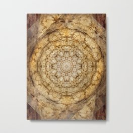 Wormwood Message Metal Print