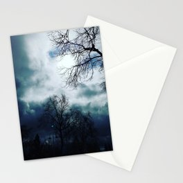 Cloudy skys Stationery Cards