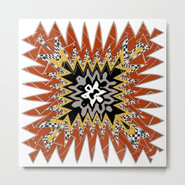 abstract zees 5 Metal Print
