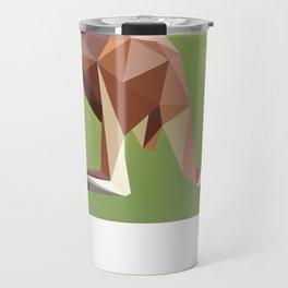 Geometric Kangaroo Travel Mug