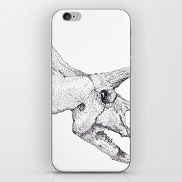 Skull of a Dinosaur iPhone Skin