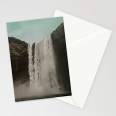 Iceland Waterfall x Skógafoss Stationery Cards