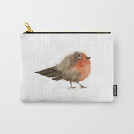 Fuzzy Bird Carry-All Pouch