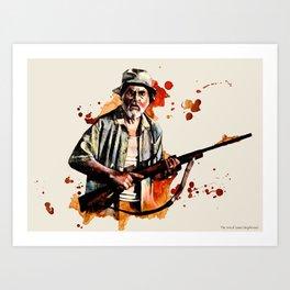 DALE Art Print