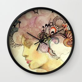 Kisses from the Sun Wall Clock