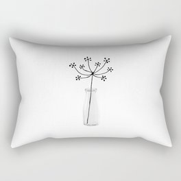 Flower Still Life I Rectangular Pillow