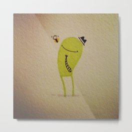 Gerald & the bee Metal Print