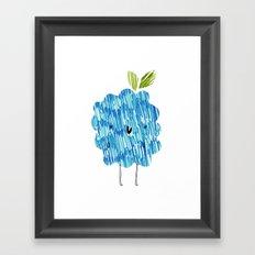 Eat Your Fruit! // Blackberry Framed Art Print
