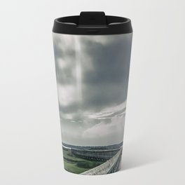 Man In The Clouds Travel Mug
