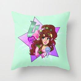 decora senshi sailor jupiter Throw Pillow