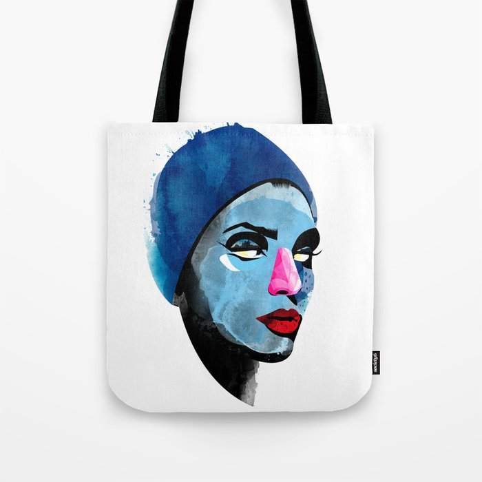 Woman's head Tote Bag