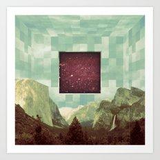 Sky Box #2 Art Print
