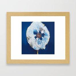 Life in Blue  Framed Art Print