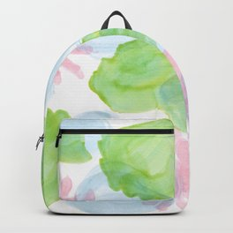 water lilies plants ink Backpack