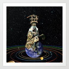 Gia (Mother Earth) Art Print