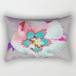 Crazy Effect Flower Rectangular Pillow
