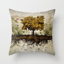 Space in Time  Throw Pillow