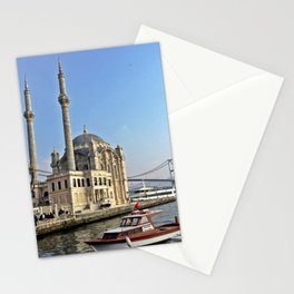 Mosque and Bridge, Istanbul Turkey Stationery Cards