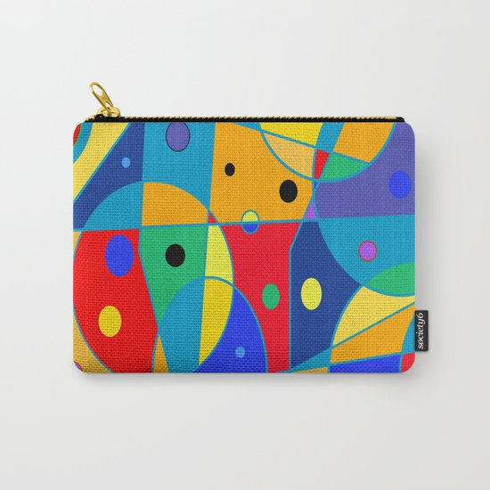 Abstract #69 Carry-All Pouch