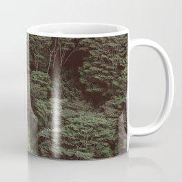 Tropical Amazon Rainforest Textured Trees Aerial Landscape Photo Coffee Mug