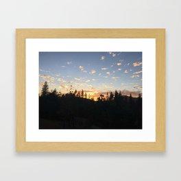 Home and the Horizon Framed Art Print