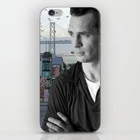 kerouac iPhone & iPod Skins featuring Jack Kerouac San Francisco  by All Surfaces Design