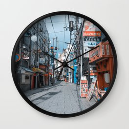 Street in Japan Wall Clock