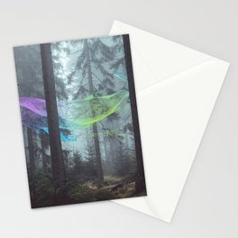 Whale Music in the Forest Stationery Cards