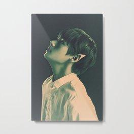 YNWA Elf Tae Metal Print