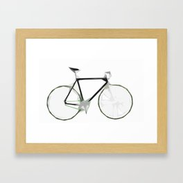 Deconstructed Fixie Framed Art Print
