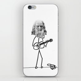 the struggling artist iPhone Skin