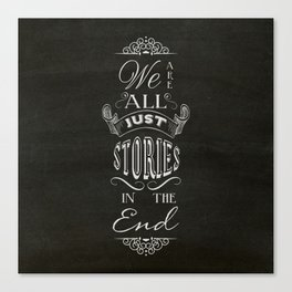 Just Stories Canvas Print