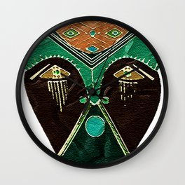 Mask Number One Wall Clock