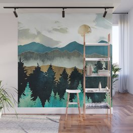 Forest Mist Wall Mural