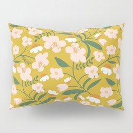 Vintage Inspired Floral Pillow Sham