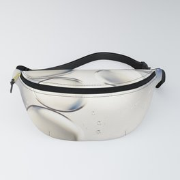 pearlescent water droplets Fanny Pack