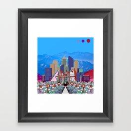 Big City #1 Framed Art Print