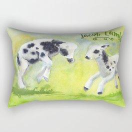 Jacob Lambs Rectangular Pillow