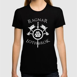 Ragnar Lothbrok   Viking Valhalla Norge Mythology T-shirt