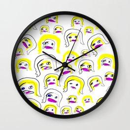 Full On Super Starz Wall Clock