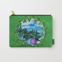 violet fruit Carry-All Pouch