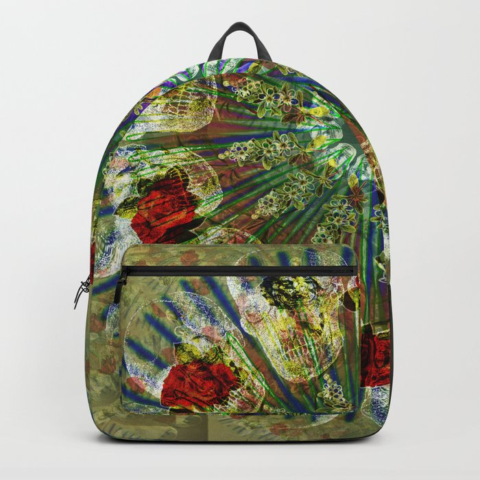 Skull Mandala Backpack