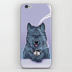 Tea Wolf iPhone & iPod Skin