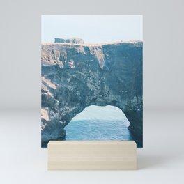 Iceland Dyrholaey Sea Arch Mini Art Print